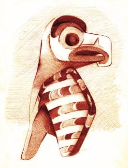 Perroquet Aztèque